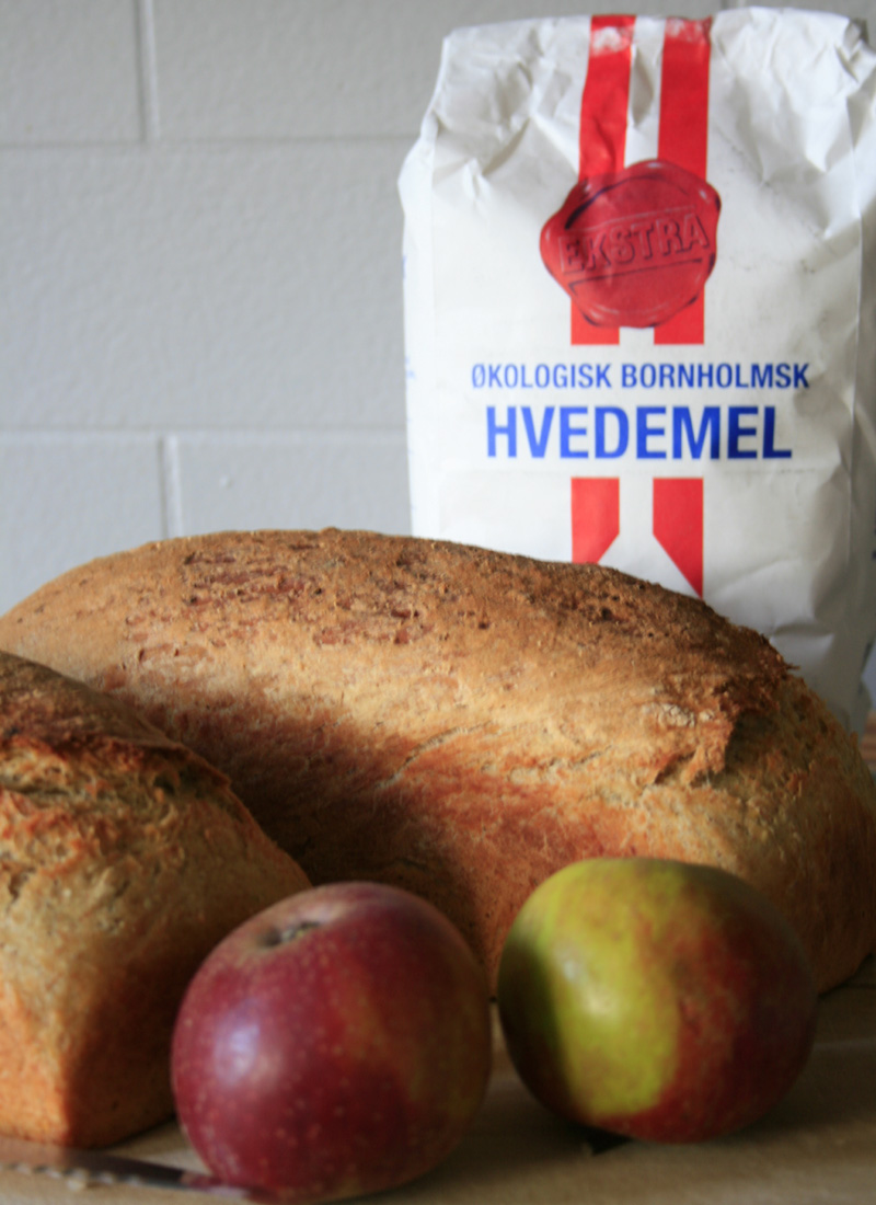 Bornholmske Formfranskbrød Med æble
