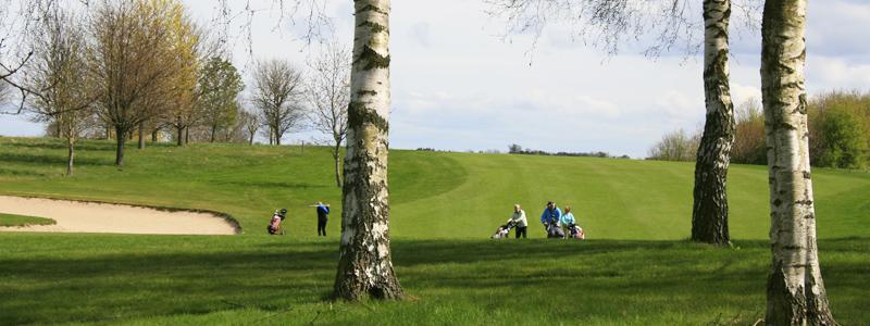 Hul 15 på Gilleleje Golfklub.