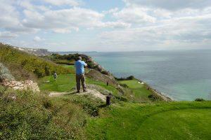 Thracian Cliffs - Sikken Udsigt Fra Par3 Hullet (greenen Er Nederst Til Højre)