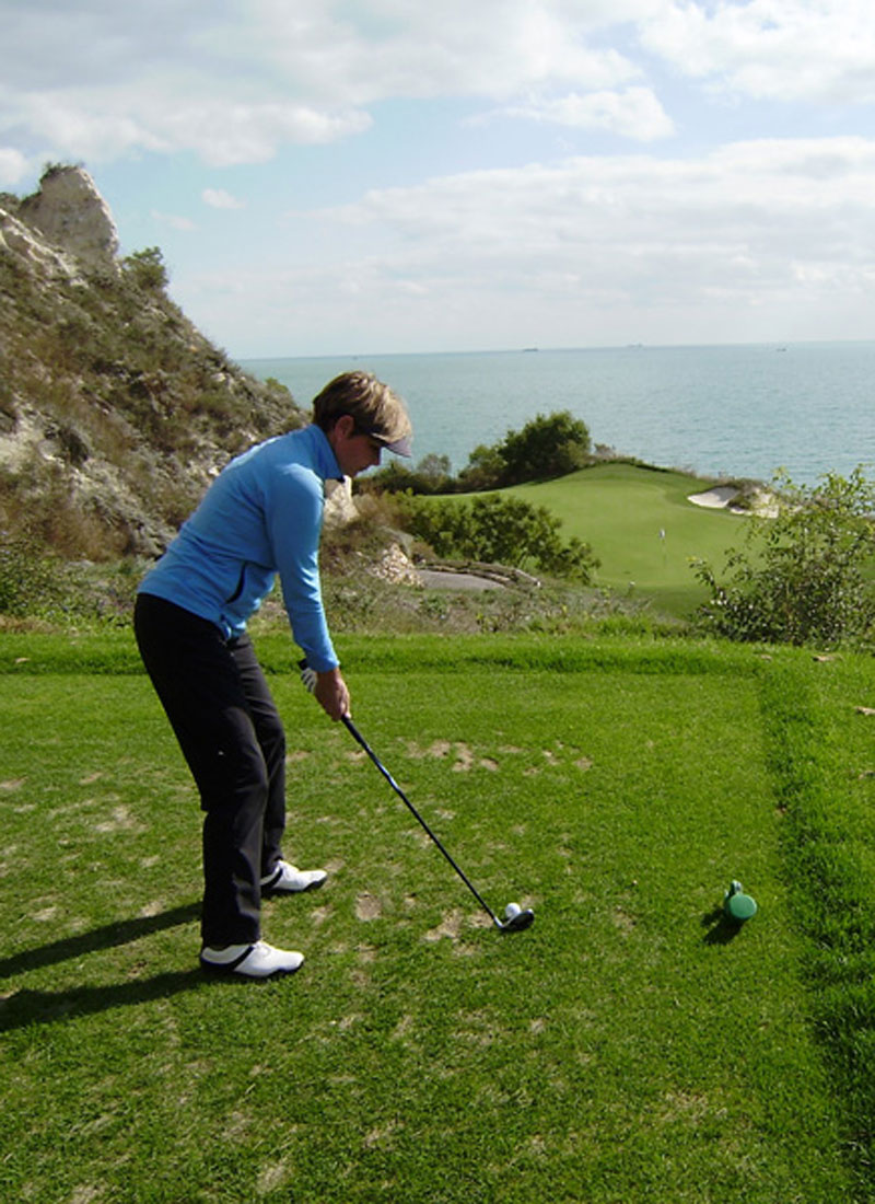 Janne Aarre På Thracian Cliffs - Lighthouse Golf Resort - Bulgarien