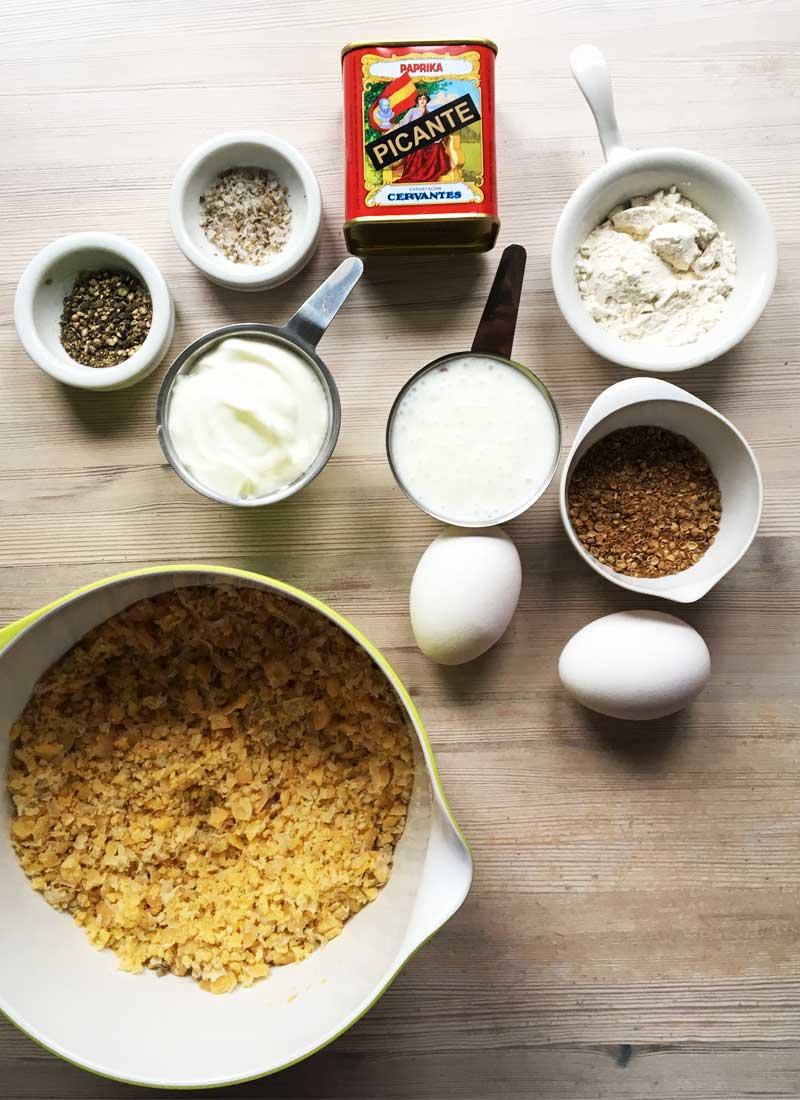 kikærtefrikadeller ingredienser