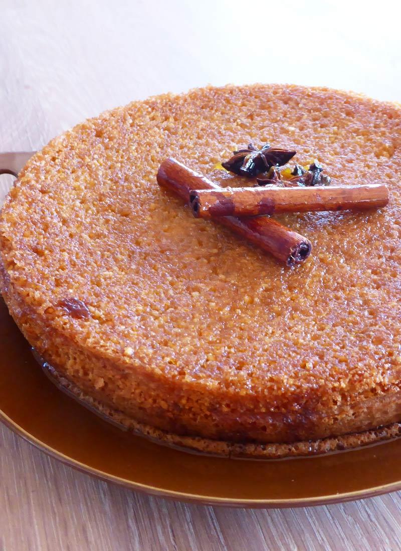 Marokkansk Mandel-appelsinkage