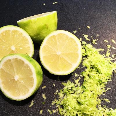 Billede af citroner