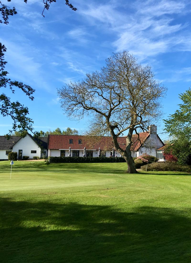 Klubhuset I Gilleleje Golfklub