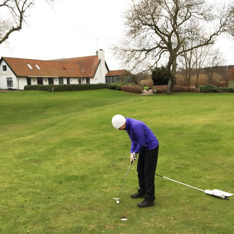 vintergolf Gilleleje Golfklub